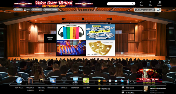 Voice Over Virtual Theater